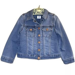 Baby Gap Denim Jacket Copper Snap Buttons